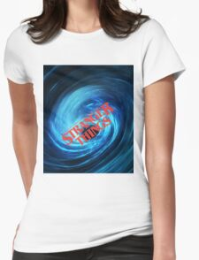 Stranger Things - Vortex Womens Fitted T-Shirt
