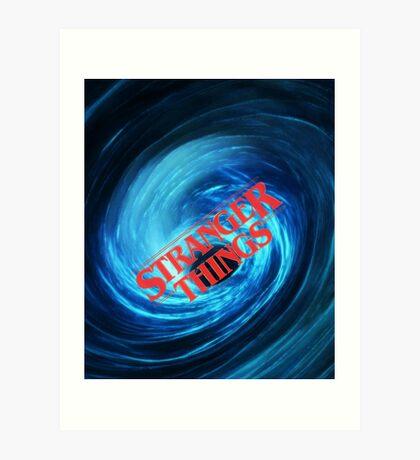 Stranger Things - Vortex Art Print