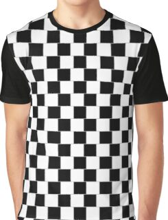 Cafe Wall BW H Graphic T-Shirt