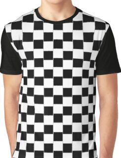 Cafe Wall BW V Graphic T-Shirt