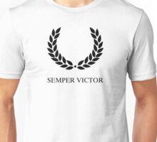 Laurel Wreath - Semper Victor Unisex T-Shirt