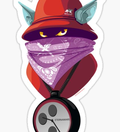 Orko Rappers of the Universe [He-Man] Sticker