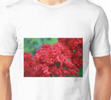 Red Crape Myrtle Unisex T-Shirt