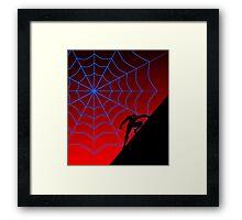 Spider Twilight Series - Peter Parker Spider-Man Framed Print