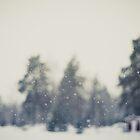 Falling snow by netza