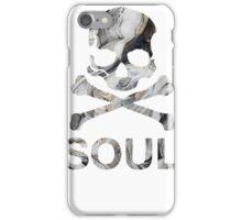 soul - black marble iPhone Case/Skin