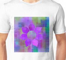 Violet Flower Power - Maps & Apps Series Unisex T-Shirt
