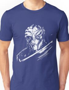 Garus - Mass Effect - White Unisex T-Shirt