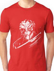 Garus - Mass Effect - White Unisex T-Shirt