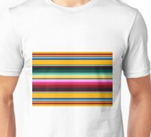 Colorful Mexican Poncho pattern Unisex T-Shirt