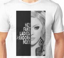 Pandora Boxx Text Portrait Unisex T-Shirt