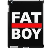 FAT BOY with a black background iPad Case/Skin