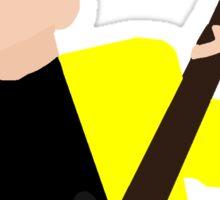 Tyler Heathens Yellow Suit Stickers Sticker