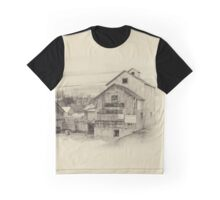The Old Mill - sepia Graphic T-Shirt