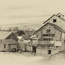 The Old Mill - sepia by PhotosByHealy
