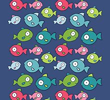 Little fishes by olarty