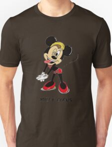 Minnie Cyrus (Miley Cyrus and Minnie Mouse Parody Mix) Unisex T-Shirt
