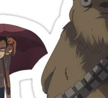 Xfiles - Ghibli (Totoro Bus Stop) Chewie version Sticker