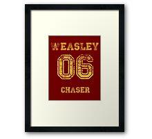 GINNY #06 chaser. Framed Print