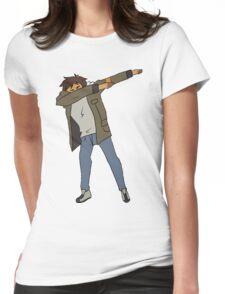 Lance Dabbing Womens Fitted T-Shirt