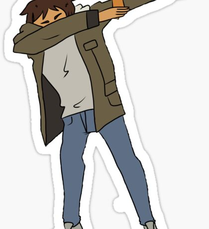 Lance Dabbing Sticker