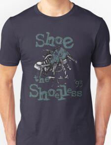 Shoe The Shoeless '93 Pearl, jam  Unisex T-Shirt