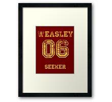GINNY #06 seeker. Framed Print