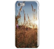Meadow Sunset iPhone Case/Skin