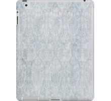 blue vintage damask iPad Case/Skin