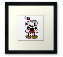 Happy Cuphead  Framed Print
