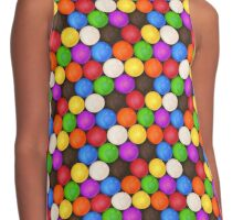 Rainbow Gumball Candy Collection Contrast Tank