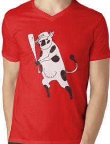 Holy Cow - Elsie baseball Mens V-Neck T-Shirt