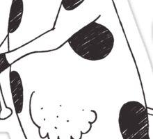Holy Cow - Elsie baseball Sticker