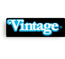 Celebrate Vintage Toys in the Kenner Toys Style Logo  Canvas Print