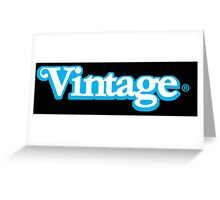 Celebrate Vintage Toys in the Kenner Toys Style Logo  Greeting Card
