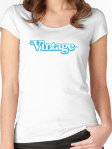 Celebrate Vintage Toys in the Kenner Toys Style Logo  Women's Fitted Scoop T-Shirt