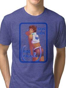 Save a Lion - Blue Tri-blend T-Shirt