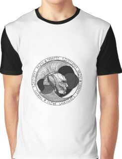Indoril Publishing House B&W Graphic T-Shirt