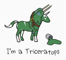 I'm A Triceratops (Unicorn + Narwhals) Kids Clothes