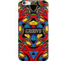 PSYCHEDELIC - GROOVY  DECORATIVE THROW PILLOW DESIGN iPhone Case/Skin