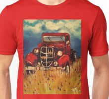 "Uncle John""s Truck Red Old Farm Ranch  Unisex T-Shirt"