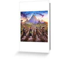 Advenrures Road Greeting Card