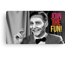 Join the Fun! Canvas Print