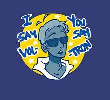 Lance says Vol-Tron Mens V-Neck T-Shirt