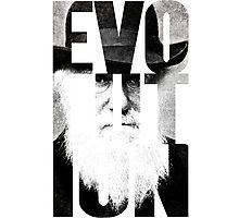 Claim to Fame Series 01 - Charles Darwin Photographic Print