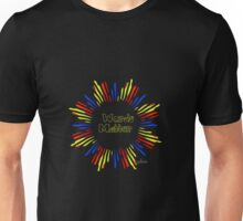 Words Matter primary colors Unisex T-Shirt