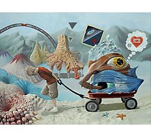 Caravan of My Inner Child Photographic Print