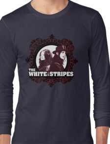 The White Stripes Long Sleeve T-Shirt
