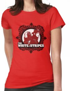 The White Stripes Womens Fitted T-Shirt