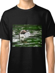 Penguin in emerald water Classic T-Shirt